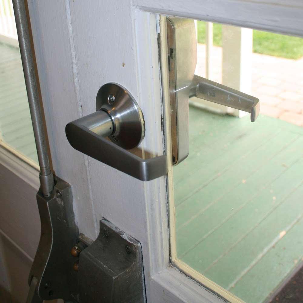 Schlage Fe575 Plymouth Keypad Lock Elan Lever Gokeyless