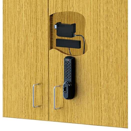 Compx Elock El Prkp Cab Prox Card Keypad Cabinet Lock