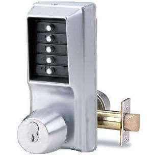 Simplex 1041r Push Button Cipher Door Lock With Sargent