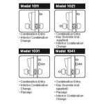Guide to Simplex 1000 Series Locks