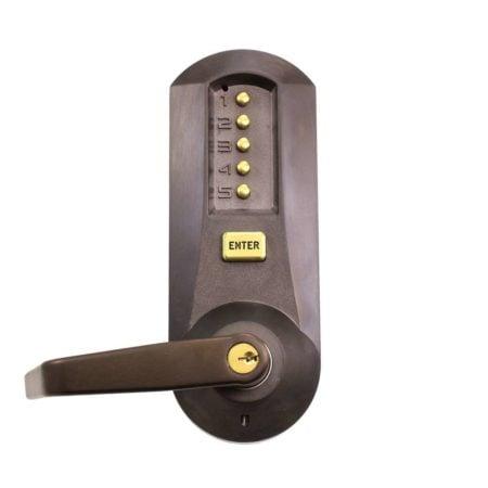 Dark Bronze with Brass Accents