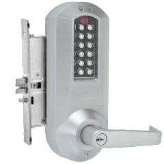 Kaba E Plex E5066 Electronic Pushbutton Mortise Lock