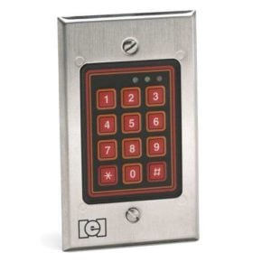 Linear IEI 212w Flush Mount Outdoor Keypad