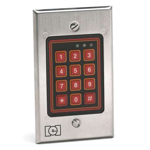 Linear Iei 212w Flush Mount Outdoor Keypad Gokeyless