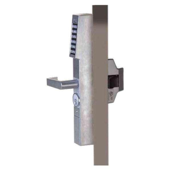 Trilogy Dl1300et Aluminum Glass Door Keypad Exit With