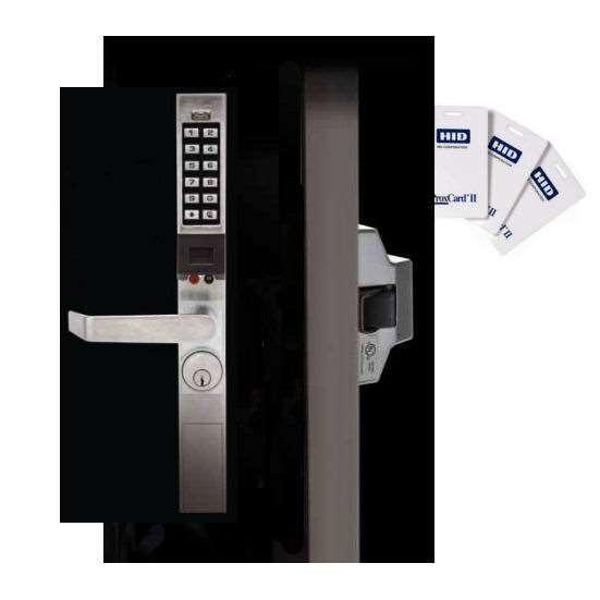 Trilogy Pdl1300et Narrow Stile Key Card With Keypad Exit