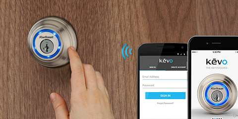 Industry-First Smart Lock Kwikset Kevo Works With Nest