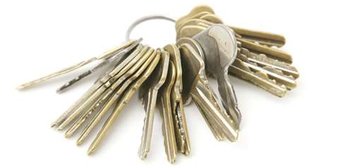 The Sneaky Landlord Get Rid Of That Jangling Key Ring