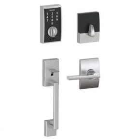 Schlage Touch Keyless Touchscreen Front Door Entry