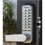 Storefront Door Keyless Security