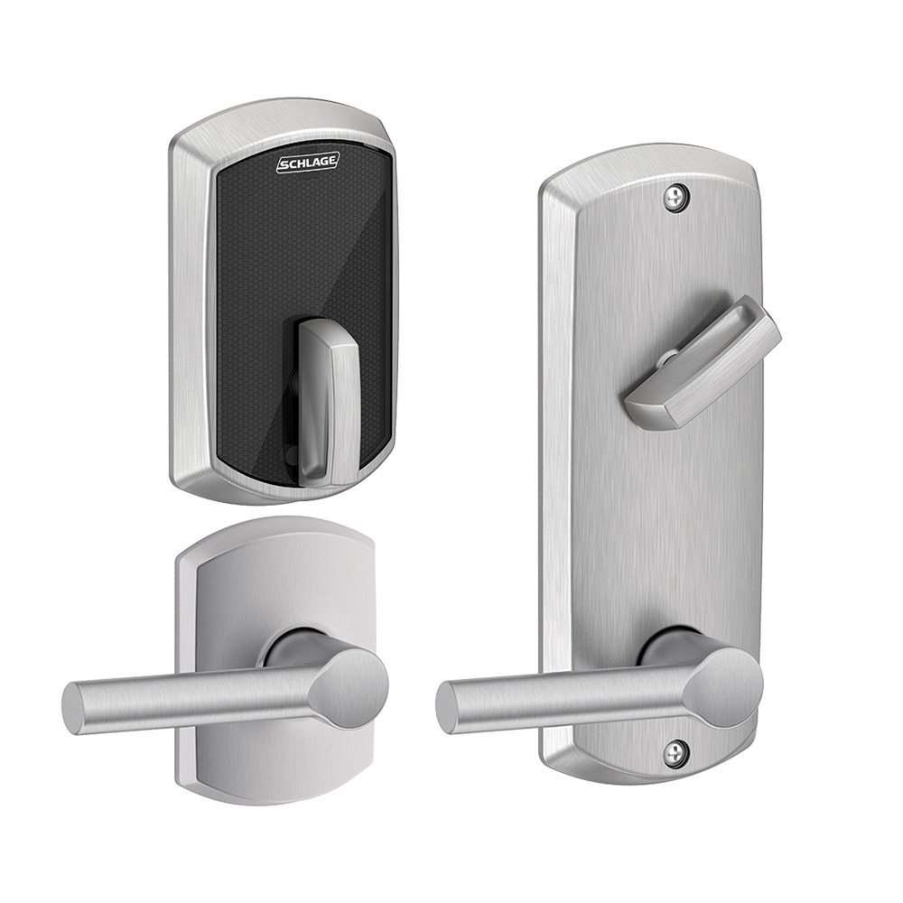 Schlage Control FE410F Interconnected Smart Deadbolt And Lever