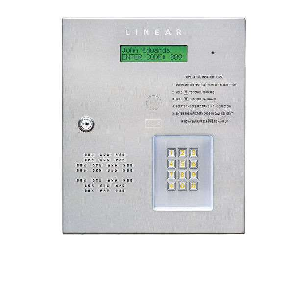 Linear Ae 500 Commercial Telephone Entry System Gokeyless