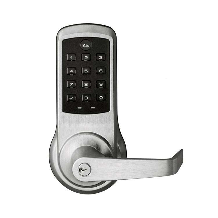 nexTouch Connected Commerical Push Button Lever