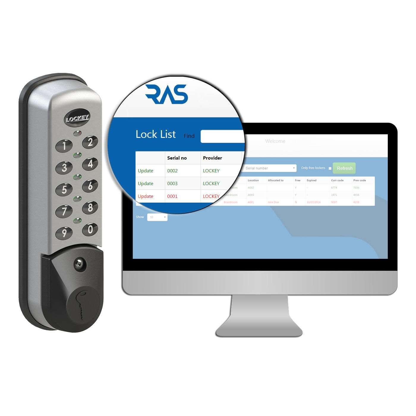 Lockey Ec 781 Wet Area Digital Electronic Cabinet Lock