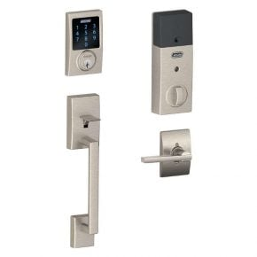 Schlage Connect FE469 Century - Satin Nickel