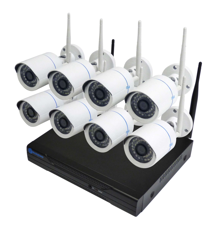 Westinghouse Security 8 Wifi Camera Nvr Kit Gokeyless