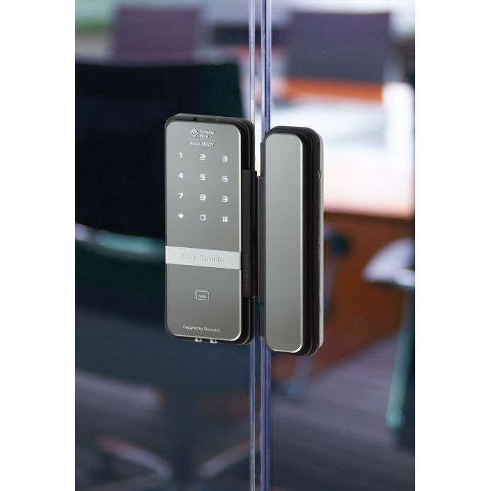 Rite Touch Rt1050l Digital Glass Door Lock With Ada Lever