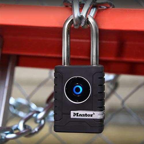 Master Lock 4401dlh Outdoor Bluetooth Padlock Gokeyless