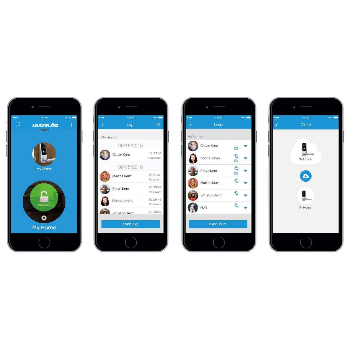 Ultraloq Ul3 Bt Bluetooth Enabled Fingerprint