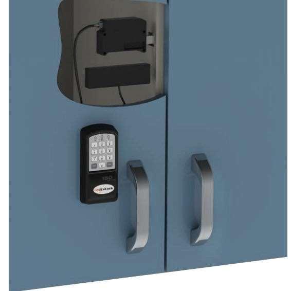 Compx Elock 150 Electronic Keypad Cabinet Lock Gokeyless