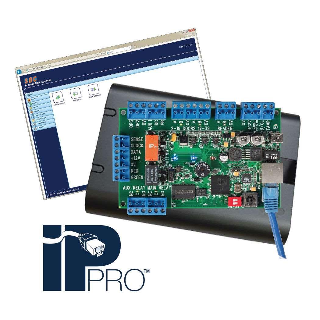 Sdc Ip Pro Ip Based Access Controller Gokeyless
