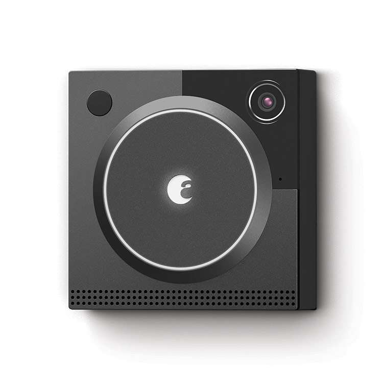 August Doorbell Cam in Dark Gray