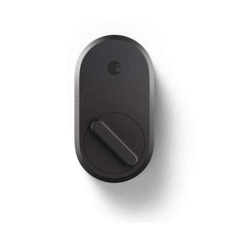 August Smart Lock in Dark Grey