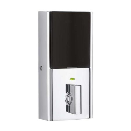 Kwikset SmartCode 916 Contemporary Interior in Polished Chrome