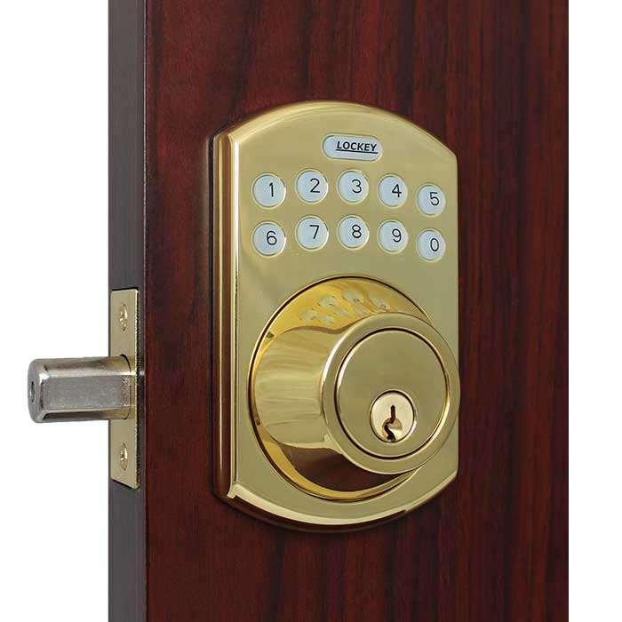 Lockey E915 Electronic Keypad Deadbolt Lock Gokeyless