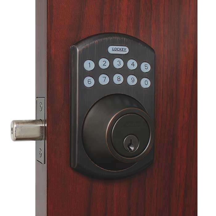 Lockey E915 Electronic Keypad Deadbolt Lock Gokeyless