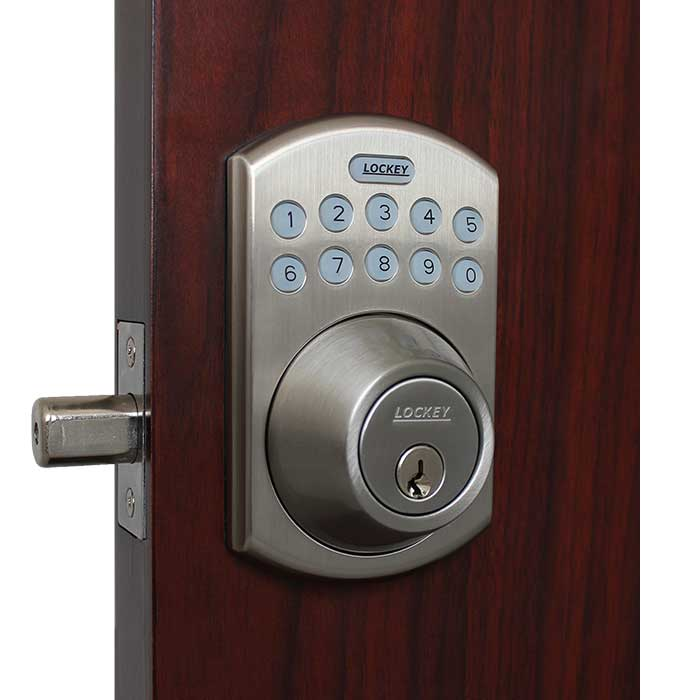 Lockey Eb915 Bluetooth Electronic Deadbolt Lock Gokeyless