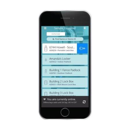 Master Lock Vault Enterprise Smartphone App