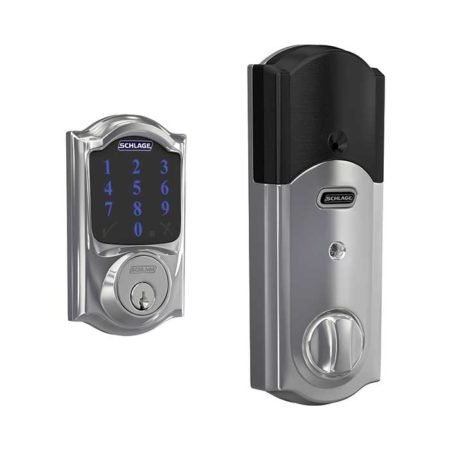 Schlage Connect BE469 in Bright Chrome