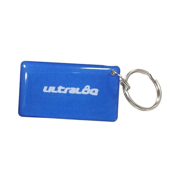 Ultraloq key fob in blue