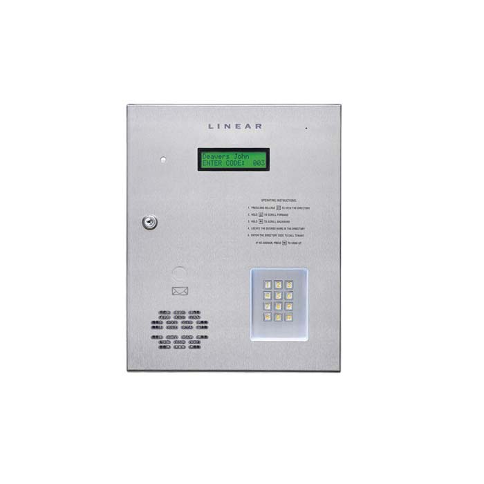 AE1000PLUS Commercial Telephone Entry System with Access Control