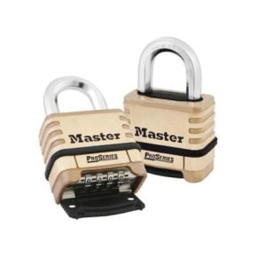 ProSeries® Brass Resettable Combination Padlock