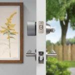 August Wi-Fi Smart Lock in Silver Profile
