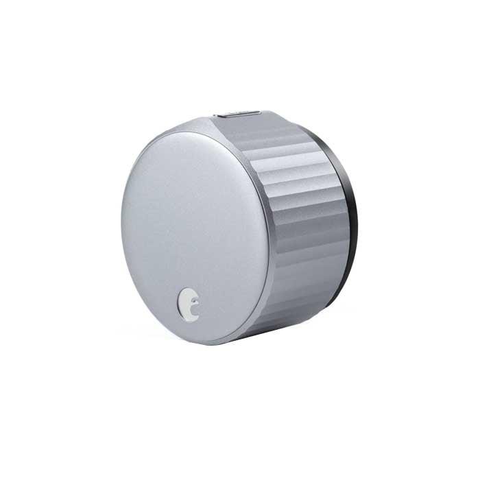 August Wi-Fi Smart Lock in Silver