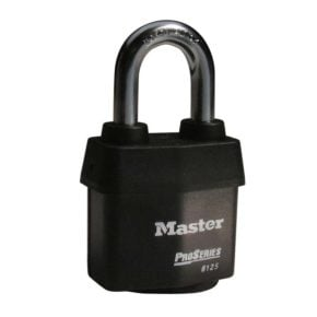 Master Lock No. 6125 ProSeries® Weather Tough® Laminated Steel Rekeyable Pin Tumbler Padlock