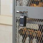 Master Lock 6400ENT on Locker Exterior