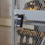 Master Lock 6400SHENT on Locker Exterior
